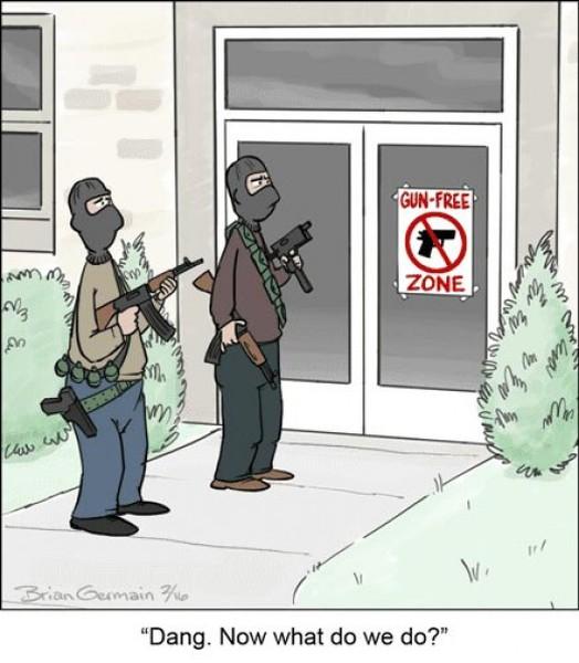 Study: 92% Of Mass Shootings Happen In Gun-Free Zones
