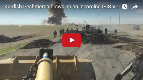 Kurdish Peshmerga Serve Up Explosive Justice On Would-Be ISIS Suicide Bomber