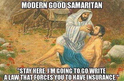 jesus-socialist-good-samaritan-obamacare-healthcare-hypocrisy-bible-story