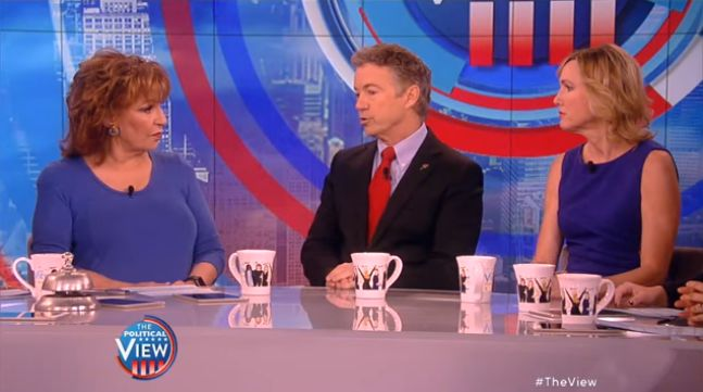 Rand Paul Totally Embarrasses 'The View' Hosts On Gun Control