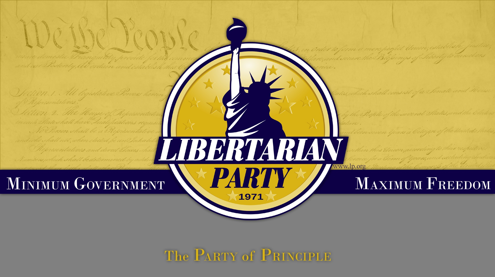 Presidential Candidate Switches to the Libertarian Party