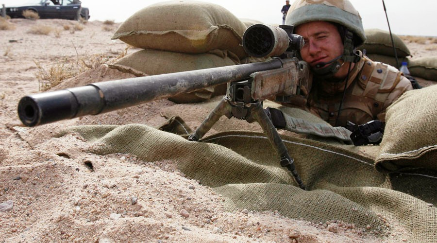 Sniper Cuts Short ISIS Beheading Class With a Well-Placed Head Shot