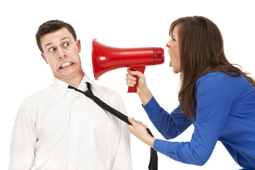 Woman-yelling-in-megaphone
