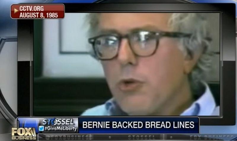 Video Surfaces of Bernie Sanders Praising Breadlines and Food Rationing