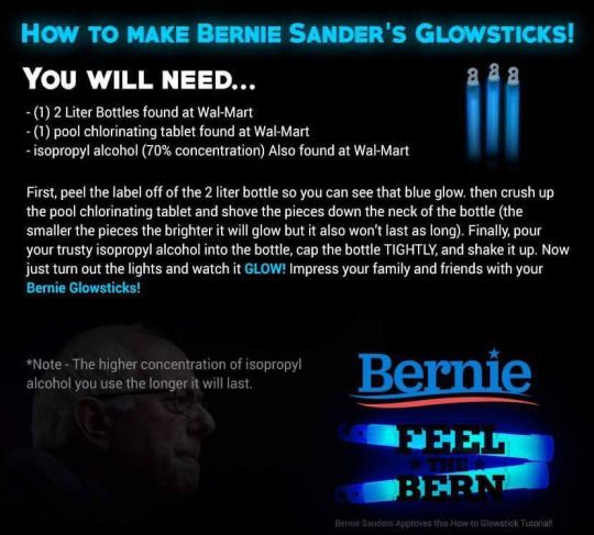 Online Graphic Attempts To Trick Bernie Sanders Supporters