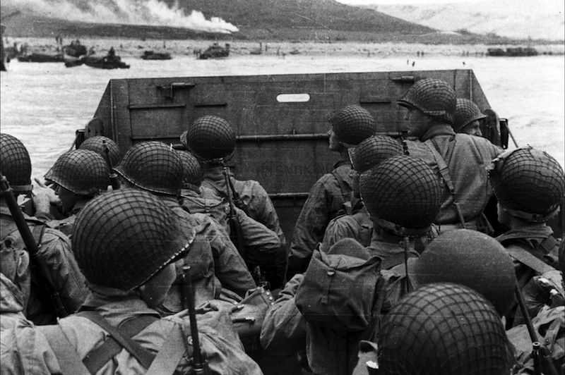 Haunting D-Day Images Commemorate 72 Years Since the Historic Invasion of Normandy