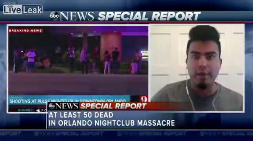 Orlando Shooting Witness Explains Why He Held Club's Door Shut
