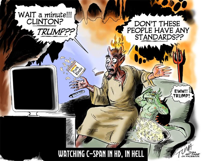 cspan in hell