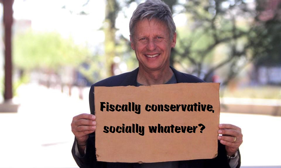 Gary Johnson fiscally conservative