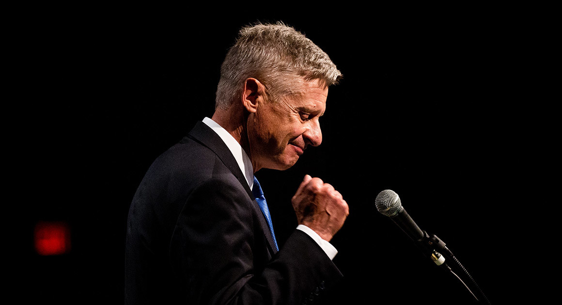 Utah Poll: Gary Johnson in Statistical Tie With Trump, Clinton