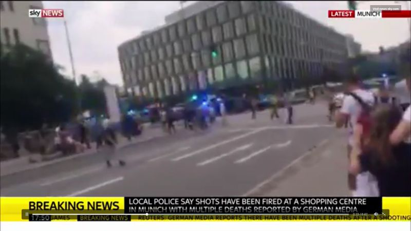 BREAKING: Shooting Spree in German Mall