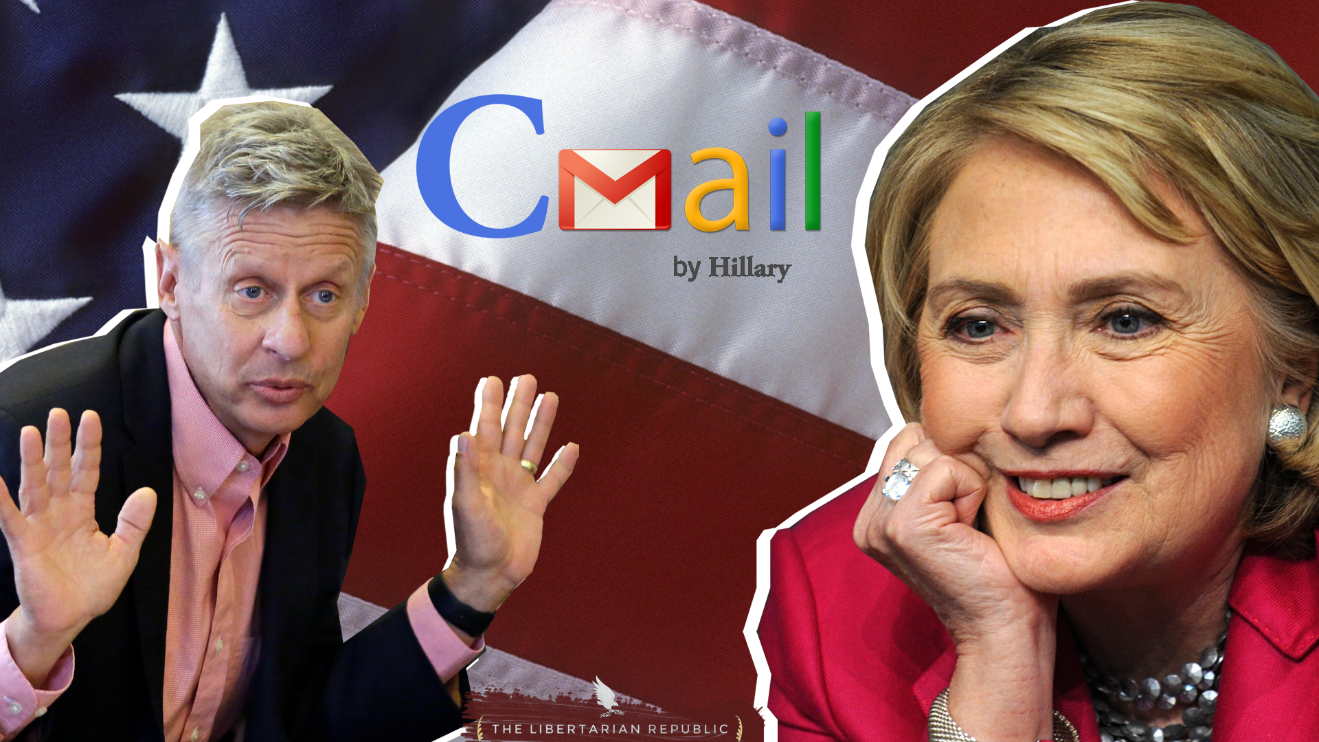 Gary Johnson Clinton Email