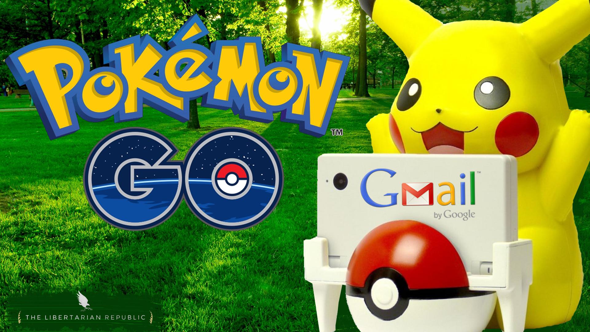 Pokemon Go Gmail