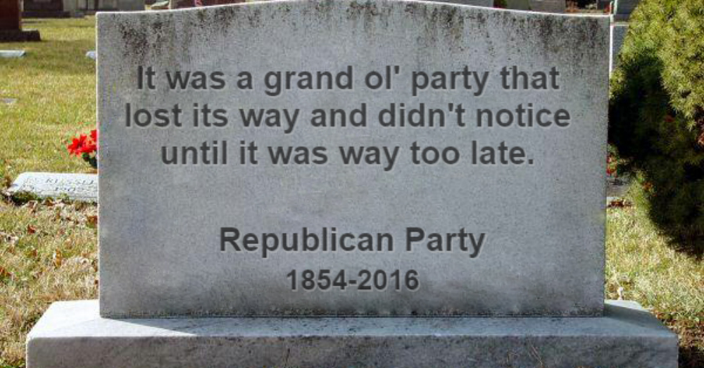 In Memoriam: An Obituary for the Republican Party (1854–2016)