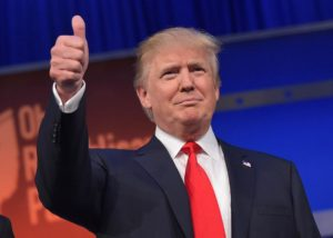 Trump thumb