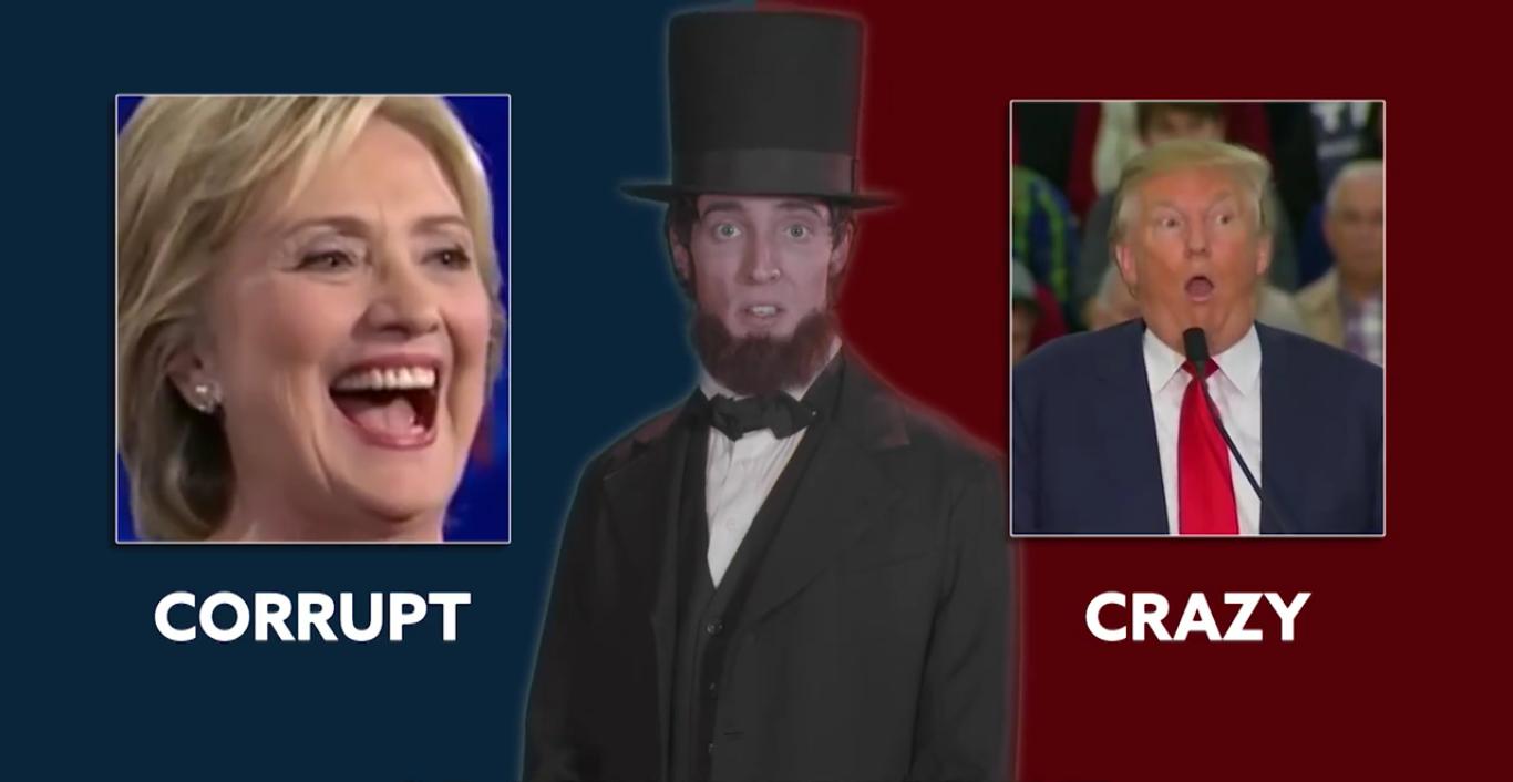 Trump, Clinton, Johnson