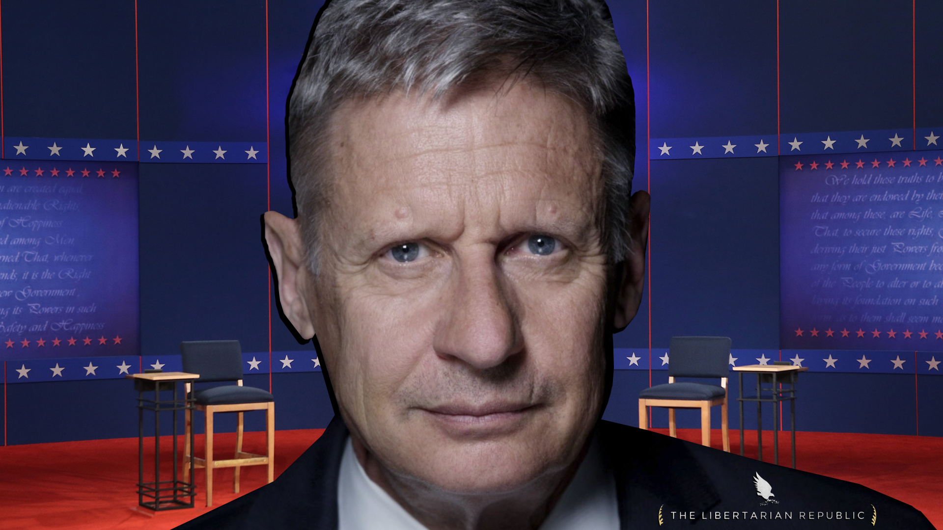 Gary Johnson Wasn't Invited to Debate. . .and You Should Be Outraged