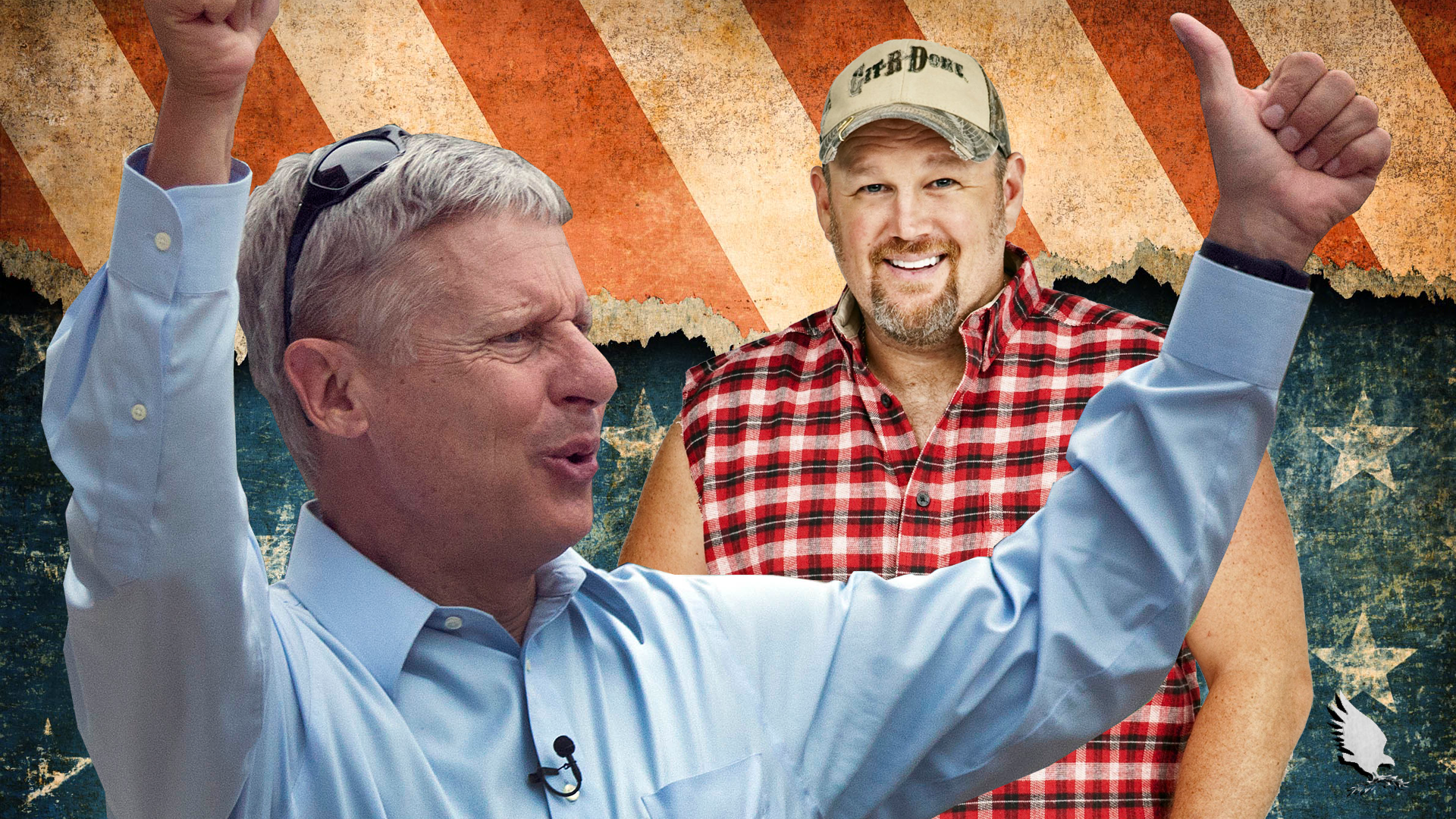Larry the Cable Guy: When I Say I'm a Trump Man. . .I Mean Gary Johnson