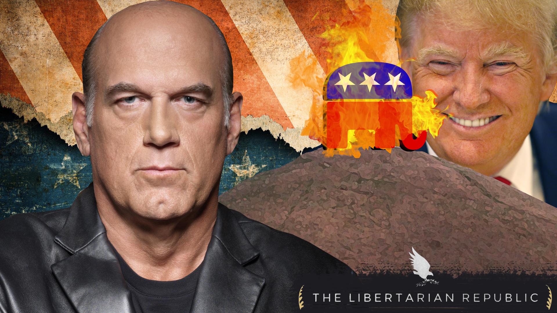 Jesse Ventura Trump Burning GOP