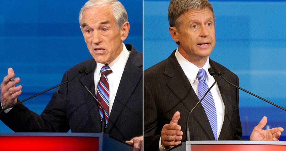 Ron Paul Campaigned For Nader To Debate In 2008; Why Not Johnson?