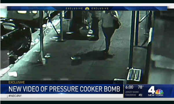 Surveillance Video Shows NYC Attacker Planting Bomb On Busy Street