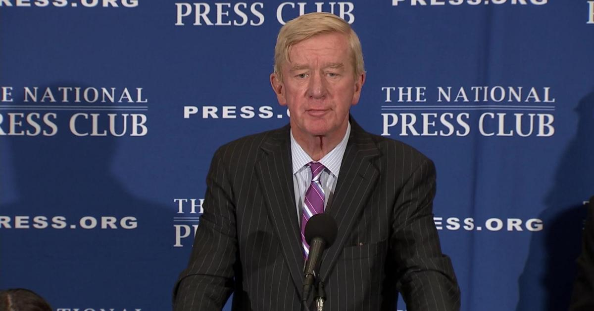 Bill Weld Might Take on Trump… As a Republican