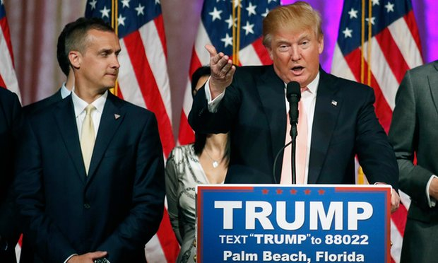 Trump, Lewandowski