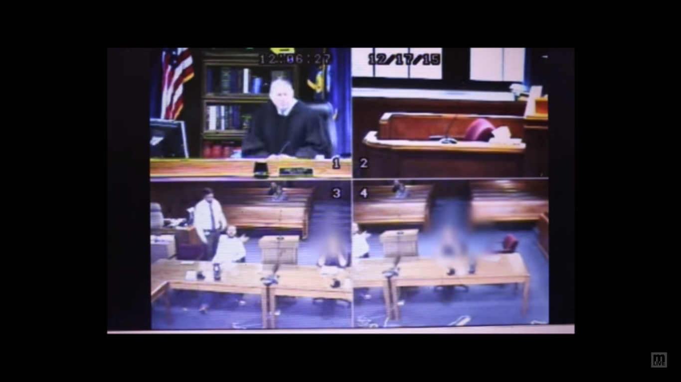 'Tase His A** Right Now': Furious Judge Throws Off Robe, Helps Detain Unruly Stalker