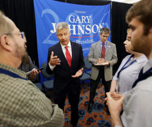 Gary Johnson, Libertarian Party