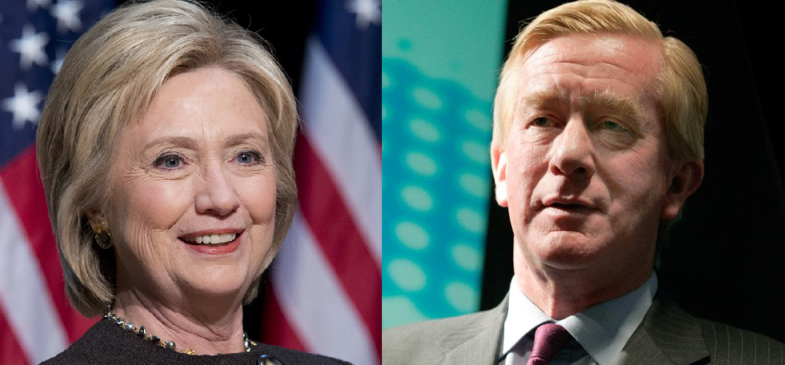Bill Weld Hillary Clinton