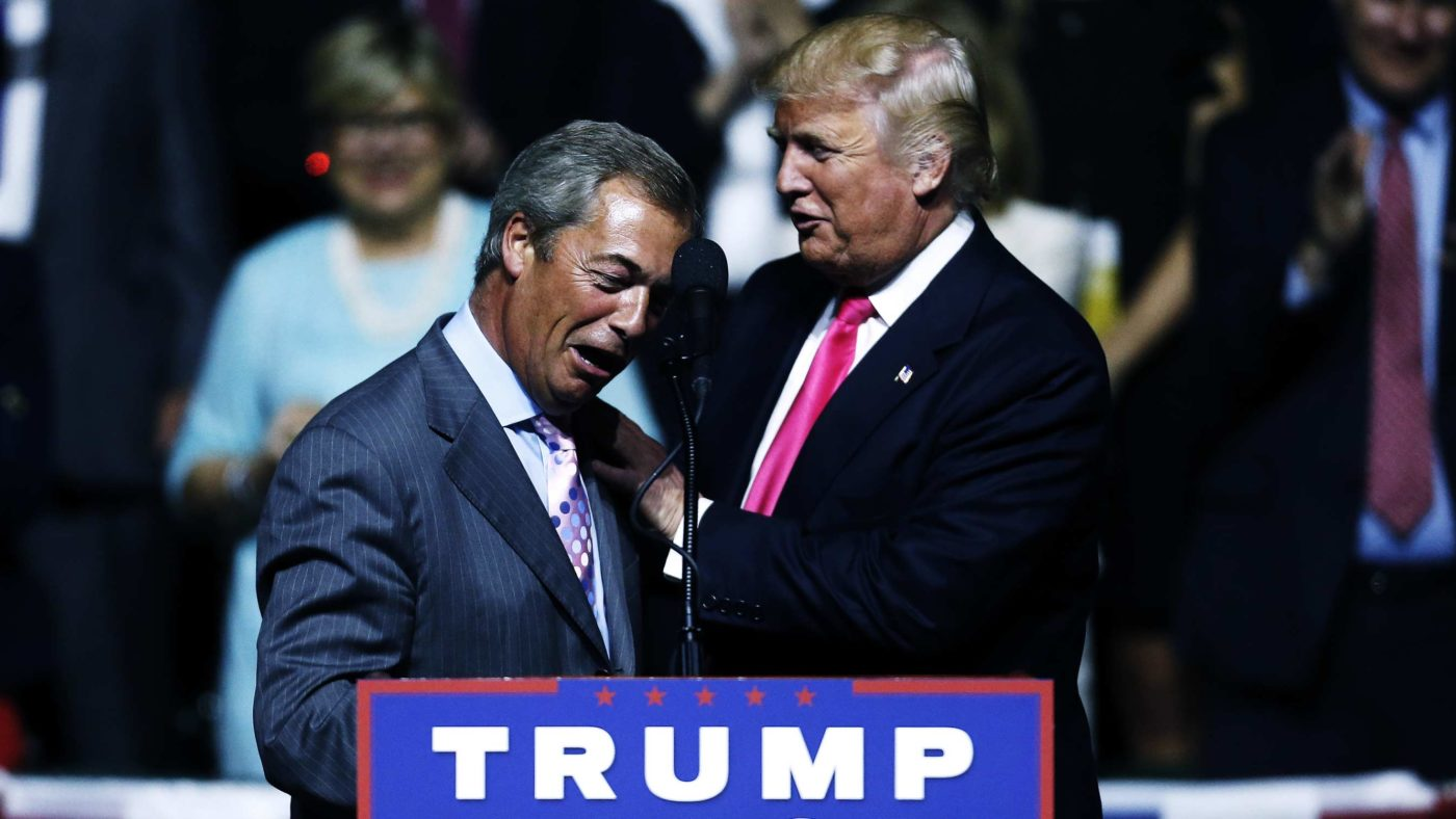 Trump Farage Bureaucracy