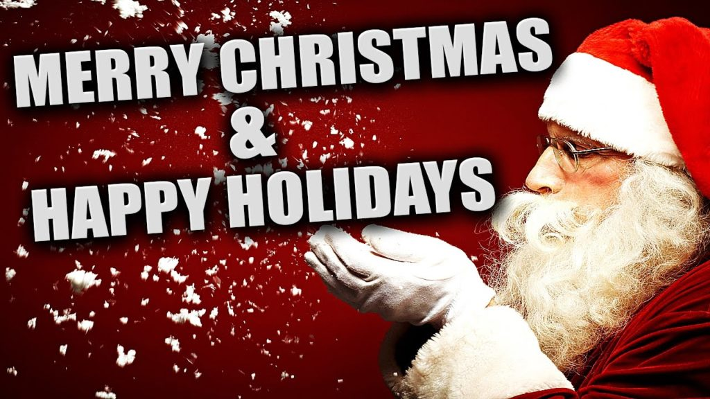 Happy Holidays Vs Merry Christmas I Don 39 T Care And