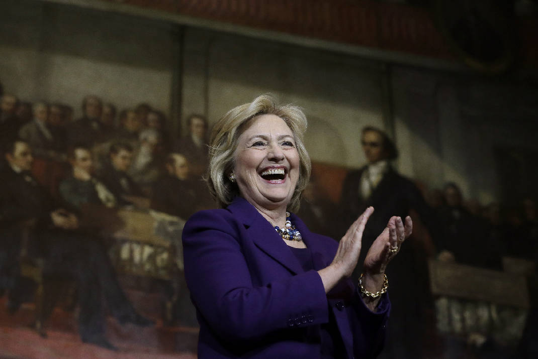 State Dept Names Exhibit Hall After Hillary Clinton And, Yes, It Has A Glass Ceiling