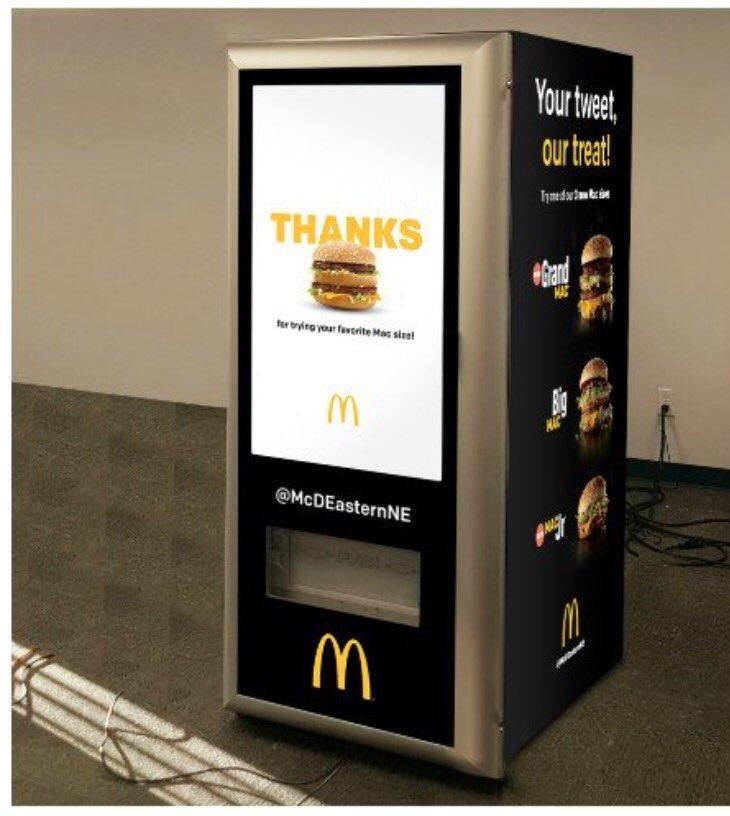 McDonald's Launching Dispenser That Spits Out Big Macs