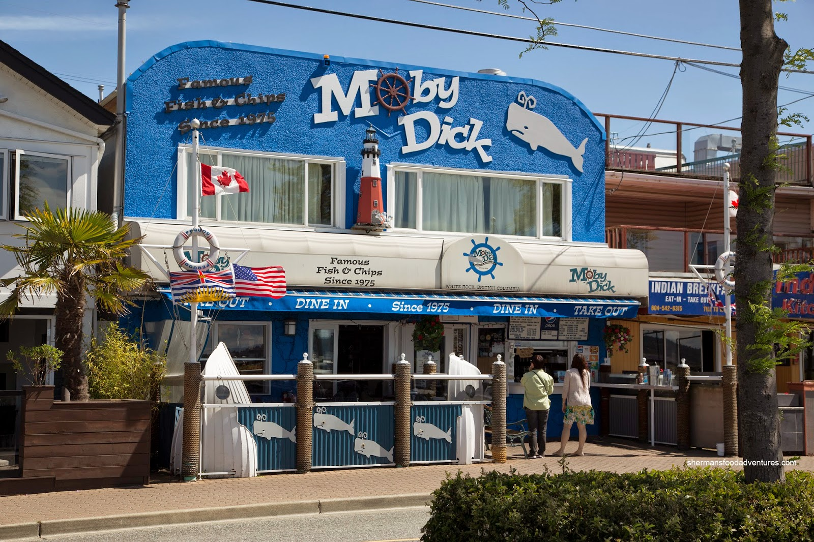 Moby dick restaurant virginia