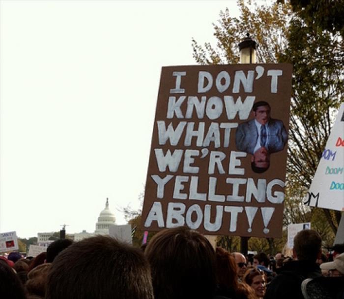 Protesting Tactics 101: #DoRandomStuff