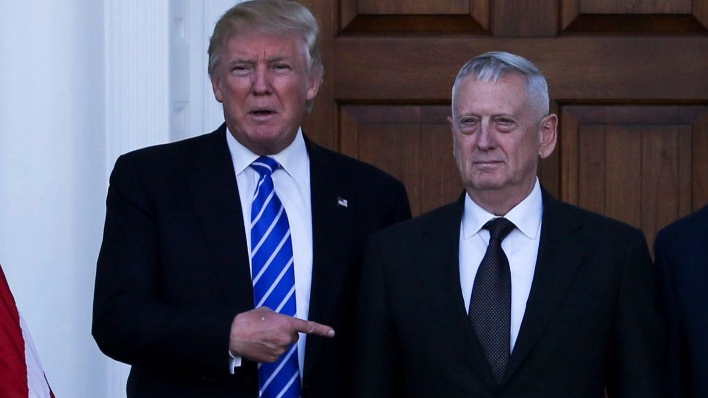 Mattis Rips Trump: 'I Earned My Spurs On The Battlefield'