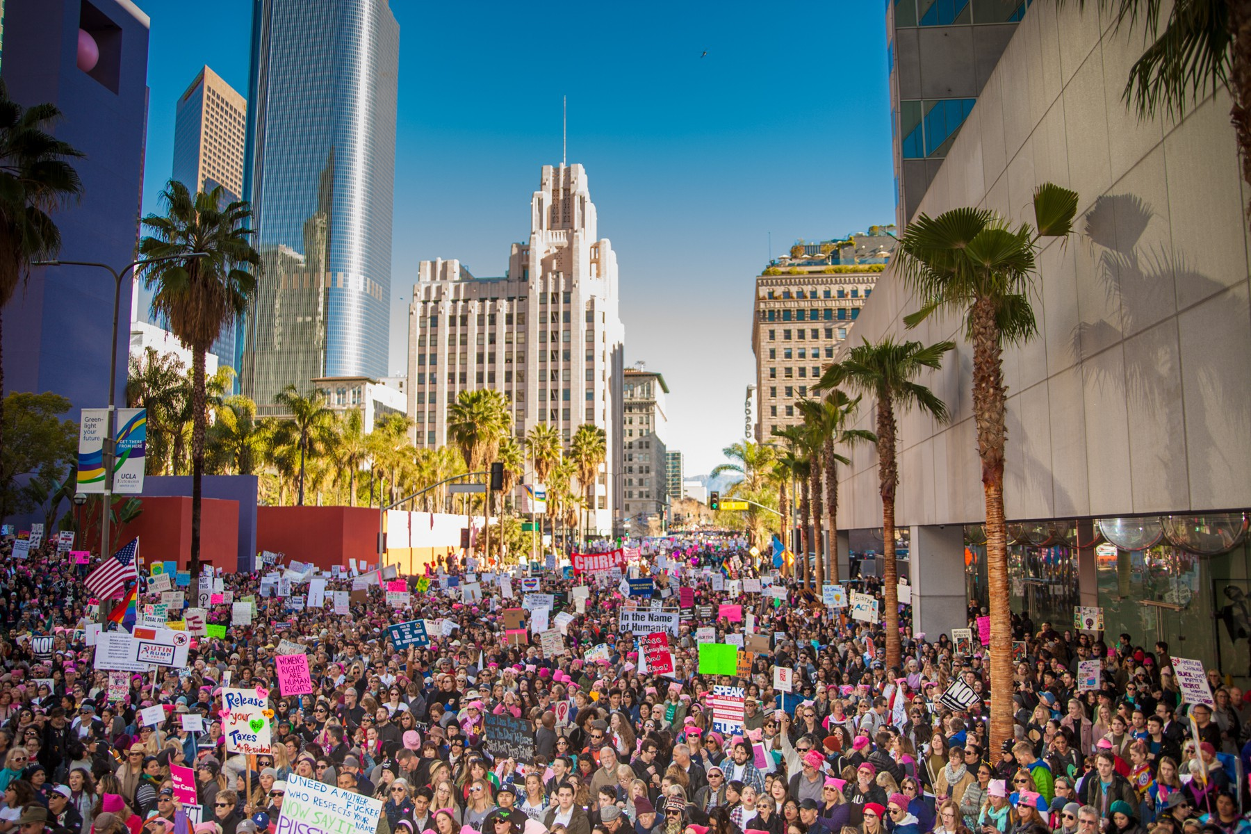 "Millions Gather Across Nation for ""Women's March"""