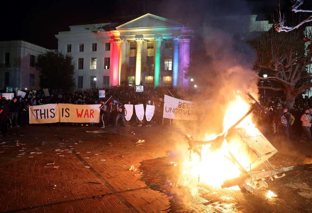Campus Thugs Shut Down Free Speech Again