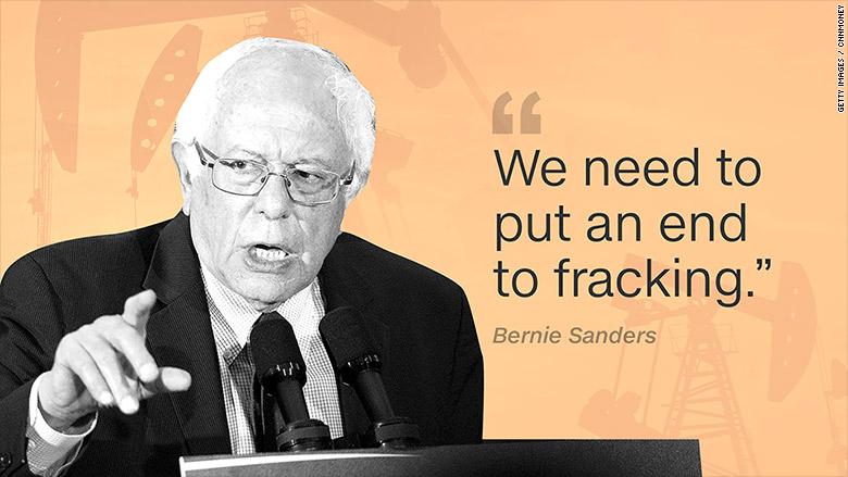 Bernie Sanders: We Need A 'Political Revolution' Against Fracking