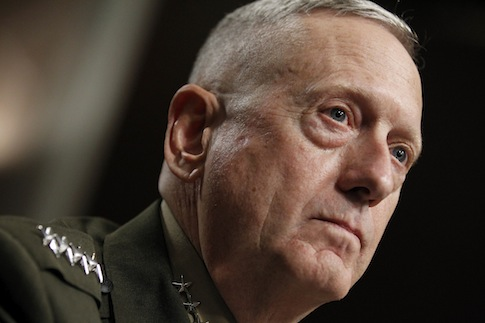 REPORT: Mattis Wanted Congress' Approval For Syria Strikes But Was Overruled By White House