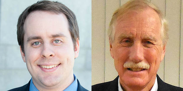 Libertarian Republican Eric Brakey Is Challenging Angus King for Senate