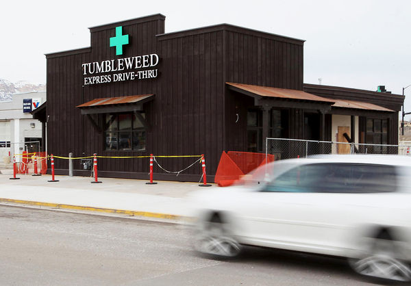 The Nation's First Drive-Thru For Weed Is Opening In Colorado