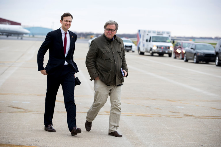 Report: Steve Bannon Called Jared Kushner A 'Cuck' And 'Globalist'