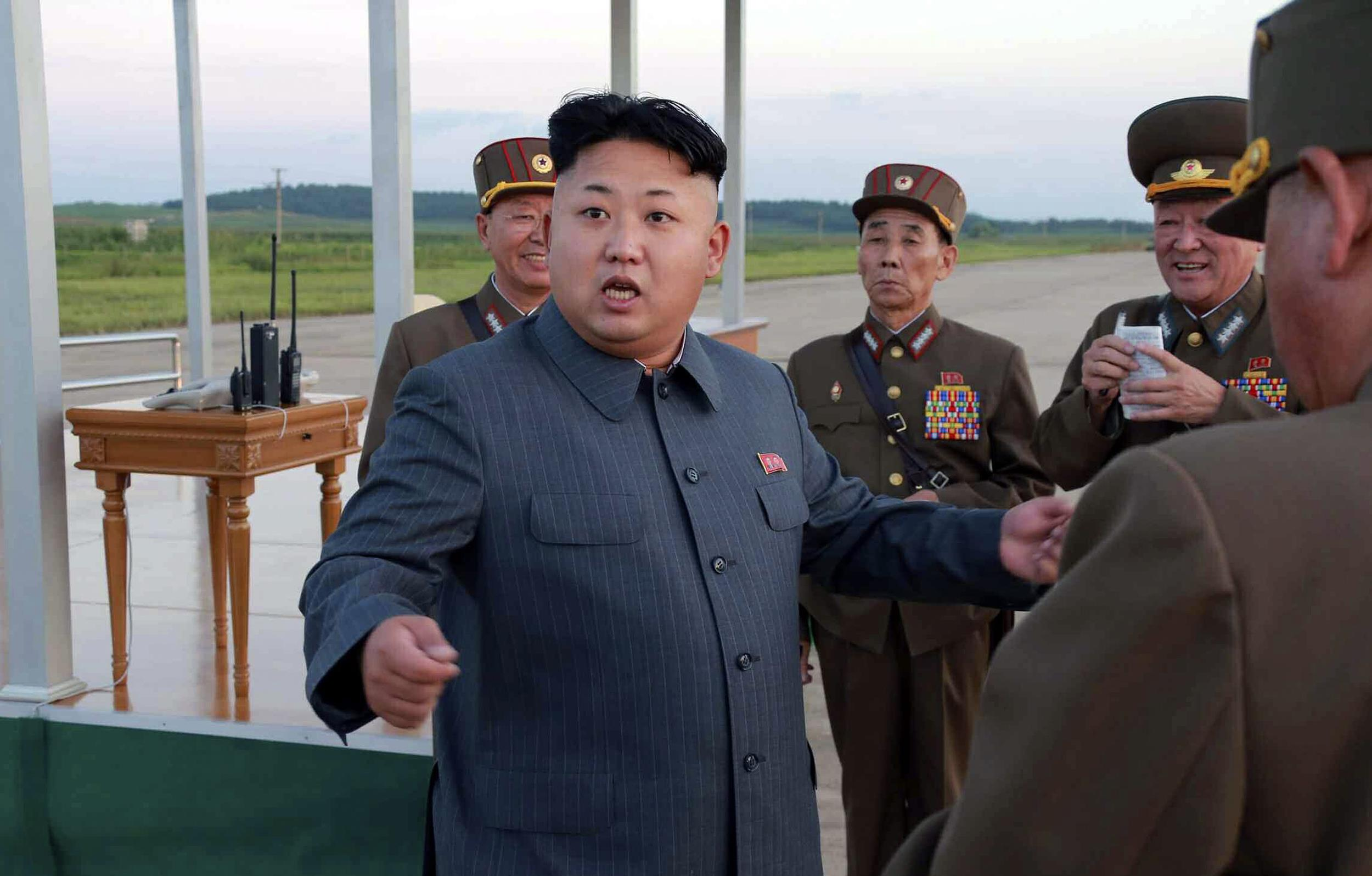 Kim Jong Un Gives The World A Sneak Peak At His Weapons Of War [VIDEO]
