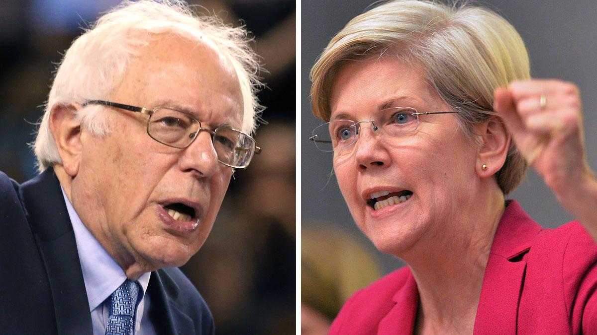 "Report: Bernie Sanders and Elizabeth Warren Secretly ""Don't Get Along"""