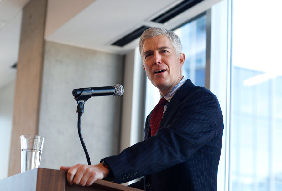 Judge Gorsuch Tagged For Plagiarism As Confirmation Nears