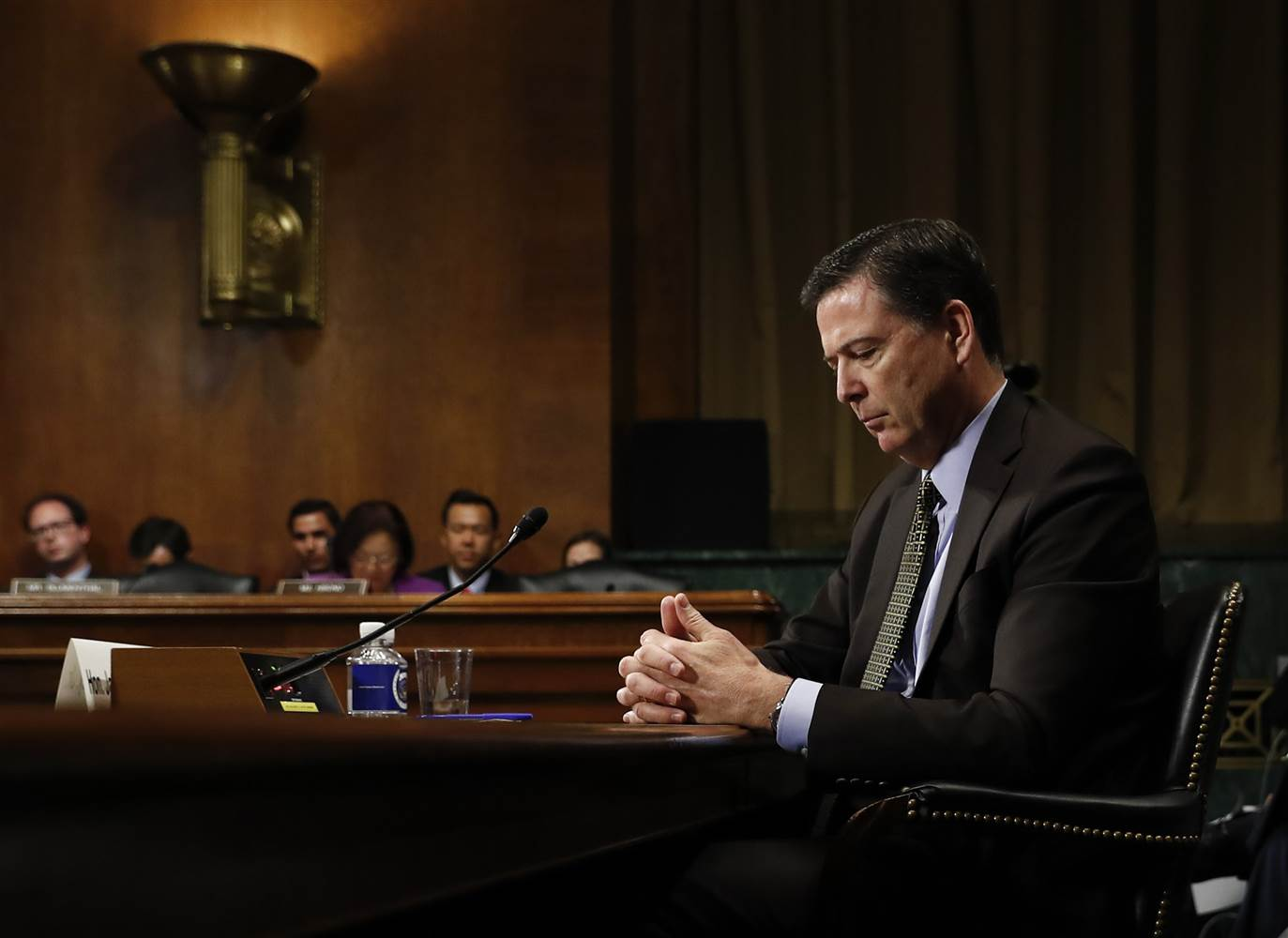 Comey: Trump Can Fire FBI Director For Any Reason He Wants
