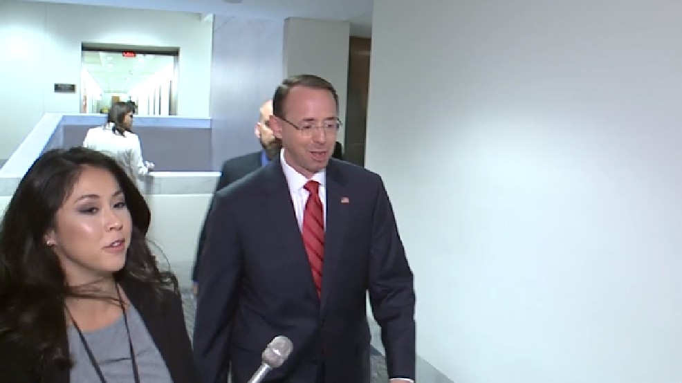 No: Deputy AG Rosenstein's Response When Asked if He Threatened to Quit Administration