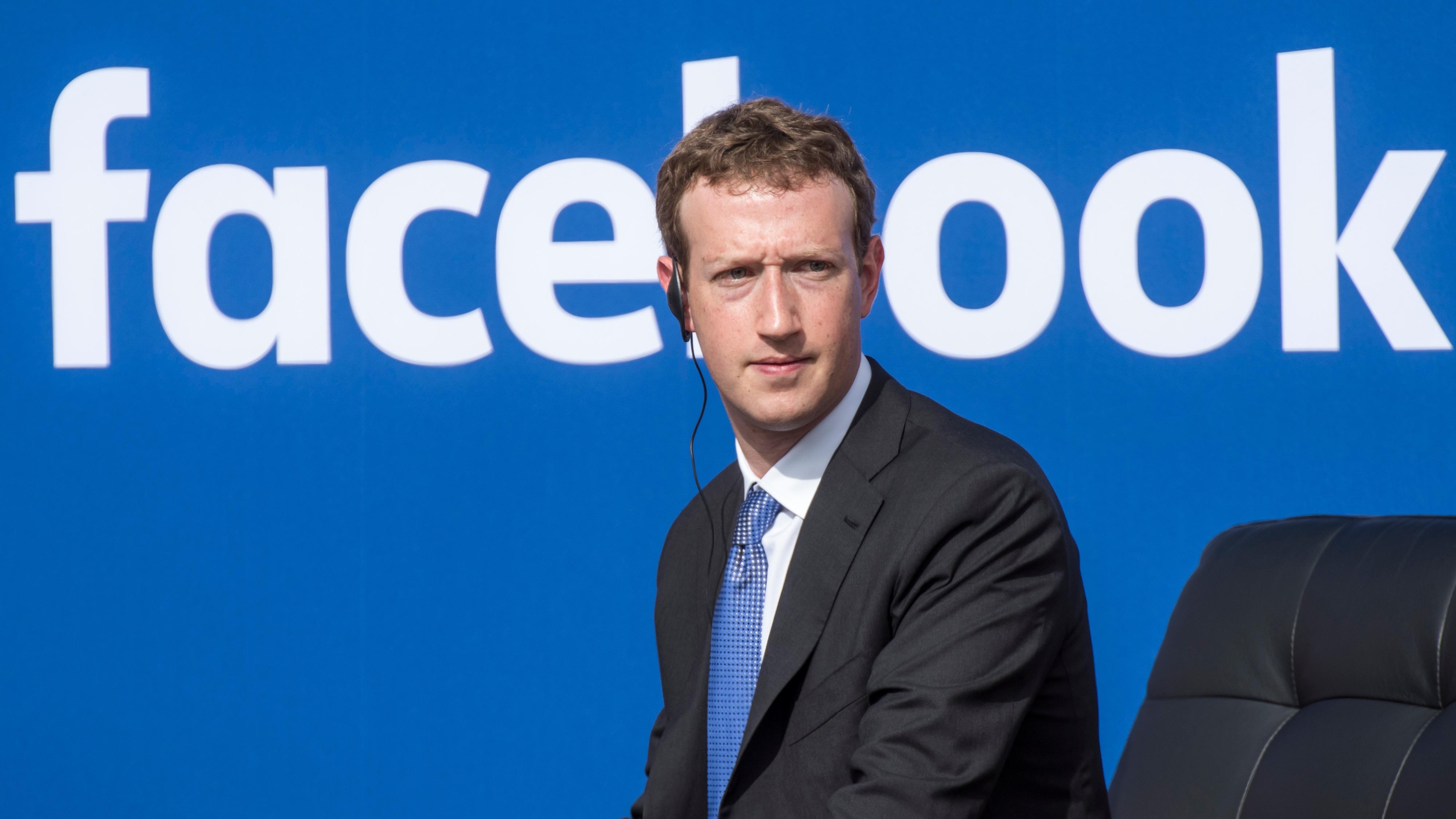Zuckerberg Talks 'Military Strategy' But Denies He Is Running For President